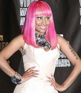 Nicki Minaj Trinidad and Tobago-born rapper, singer and actress