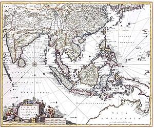 Nicolaes Visscher II - Image: Nicolaes Visscher Indiae Orientalis