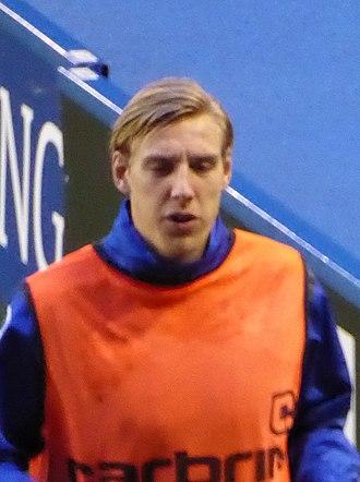 Nicolai Brock-Madsen - Brock-Madsen with Birmingham City in January 2016