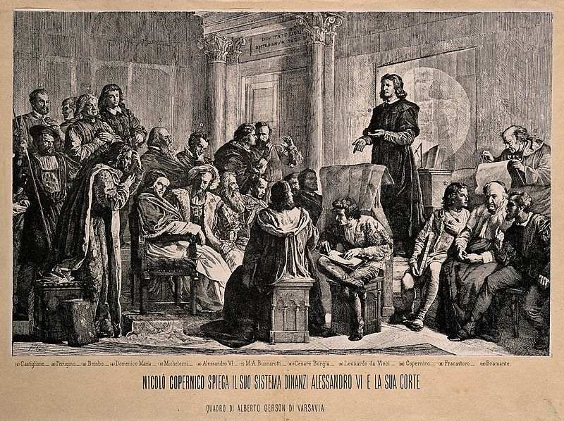 File:Nicolas Copernicus explaining his planetary system to Alexan Wellcome V0006673.jpg