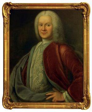 Nils Rosén von Rosenstein - Portrait by Lorenz Pasch the Younger.