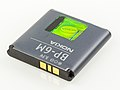 Nokia Lithium Polymer battery, BP-6M-6024.jpg