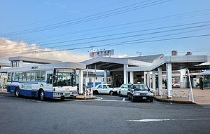 North entrance of Kasugai station(JR).JPG