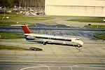 Northwest DC-9-50 N766NC at DTW (16002026467).jpg