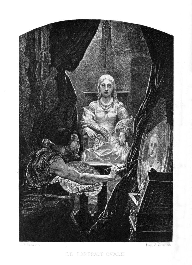 Le coin des lecteurs - Le portrait ovale d'Edgard Allan Poe