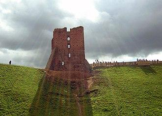 Navahrudak Castle - The ruins of Navahrudak Castle.