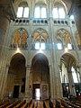 Noyon (60), cathédrale Notre-Dame, nef, 1ère-3e travée, élévation nord.jpg
