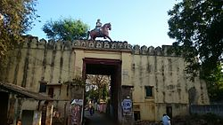 Nuzvid Fort Gate