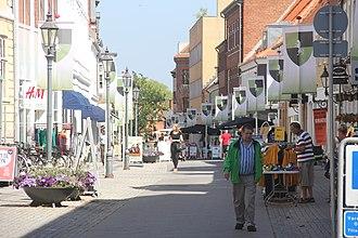 Nyborg Municipality - Image: Nyborg Norrgade