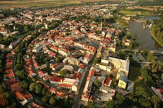 Nymburk Town in Central Bohemian, Czech Republic