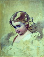 Nyuta (A.I.Lebedeva, nee Makarova, painter's daughter) by I.Makarov (1860s).jpg