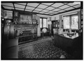OFFICE, LOOKING EAST, OFFICE WING - Stan Hywet Hall, 714 North Portage Path, Akron, Summit County, OH HABS OHIO,77-AKRO,5-66.tif