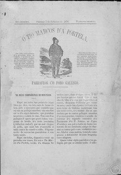 O Tío Marcos d'a Portela. Ano Primeiro Parrafeo Primeiro 1876 febrero 7.pdf
