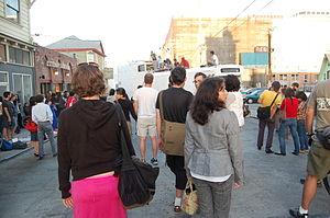 Art Murmur - Art Murmur street scene in 2007.