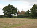 Oast Houses at Tillman Gate Farm, Windmill Farm, near Ulcombe, Kent - geograph.org.uk - 564501.jpg