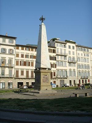 Piazza Santa Maria Novella - Image: Obelisco piazza santa maria novella 01