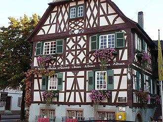 Oberkirch (Baden) - Image: Oberkirch Oberen Linde 343