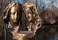Obermenzing - Schloss Blutenburg - Agnes-Bernauer-Denkmal II 001.jpg