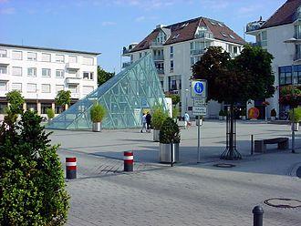Oberursel (Taunus) - View from Epinayplatz.