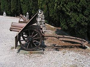 Skoda 75 mm Model 15 - Image: Obice 75 13