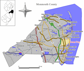 Ocean Township, Monmouth County, New Jersey Township in Ocean County, New Jersey, United States