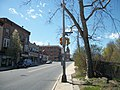 Odd Traffic Signal; So 8th Ave-W 1st St; Mount Vernon NY NE corner.JPG
