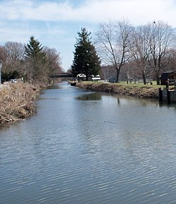 Along the Ohio and Erie Canal