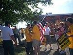 Ohio Union Activists Demonstrate at John McCain Event in Lima, Aug. 7 (2754366079).jpg