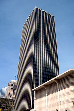 Chase Tower (Oklahoma City) - Cotter Ranch Tower in downtown Oklahoma City.