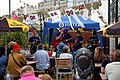 Okee Dokee Band at Broadstairs Folk Week 2016, Kent, England 01.jpg