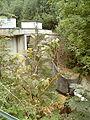 Okertalsperre Ausgleichsbecken Staumauer Talseite.jpg