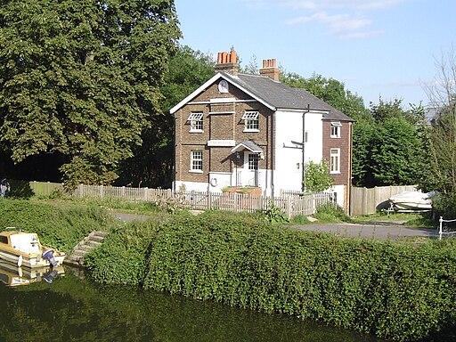 Old Lock House, Sunbury Lock, Walton-on-Thames