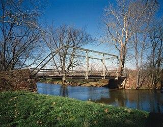 Old Mill Road Bridge bridge in United States of America