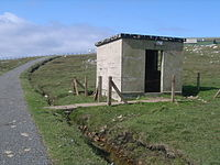 Old guard house approaching RAF Aird Uig - geograph.org.uk - 1453047.jpg
