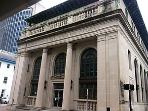 Federal Reserve Bank of Atlanta Jacksonville Branch - Image: Oldfedreserve