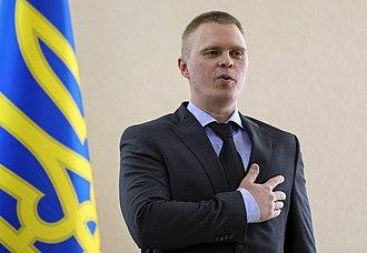 Governor of Donetsk Oblast - Image: Oleksandr Kuts Kramatorsk