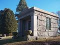 Oliver mausoleum, Sewickley Cemetery, 2014-12-26, 01.jpg