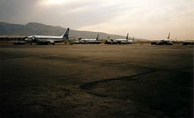 Olympics Airways aircraft at Hellinikon Airport.jpg