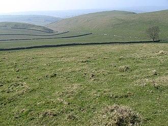 Wetton, Staffordshire - View near Wetton Hill