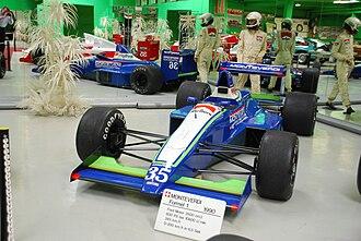 Onyx Grand Prix - The Onyx ORE-1B that was used in the 1990 season.