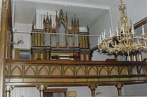 Tyristrand - Organ of Tyristrand Church