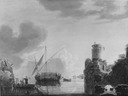 Oriental Harbour (Bonaventura Peters d.ä.) - Nationalmuseum - 17564.tif