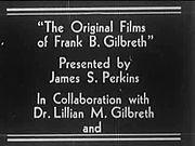 File:Original Films Of Frank B Gilbreth (Part I).ogv