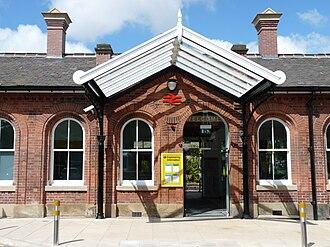 Ormskirk - Ormskirk railway station.