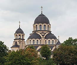 Orthodox Church of Revelation of the Holy Mother of God Domes, Vilnius, Lithuania - Diliff.jpg