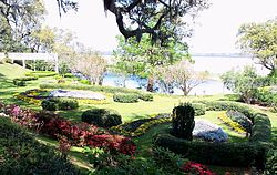 Orton Plantation Gardens Overlooking The Cape Fear River