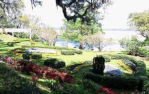 Orton Plantation - Orton Plantation Gardens overlooking the Cape Fear River