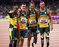 Oscar Pistorius and his team (7940671224).jpg