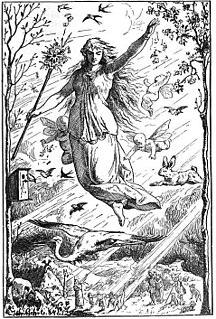 Germanic goddess
