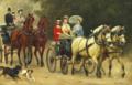 Otto Bache - Den kongelige familie på køretur - 1879.png